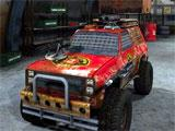 Battle Cars: Cool 4-wheel drive