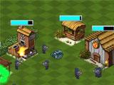 First Skirmish in Evil Island
