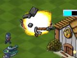 Blowing Enemy Base in Evil Island