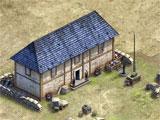 Liberators building a base