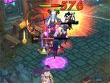 Run dungeons in Spirit Guardian: Vanguard Rush