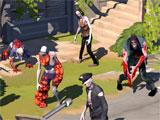 Zombie Anarchy: War & Survival shooting zombies