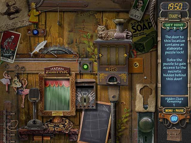 a puzzle in a hidden object game