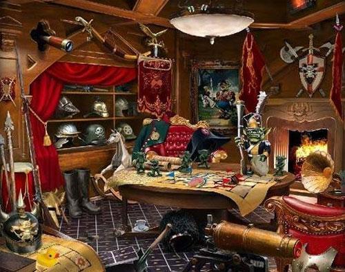 Enjoy the Trophy Room in Mystery Manor: Hidden Adventure