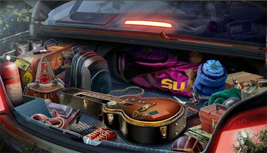 Car Trunk in Journals of the Unknown