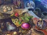 Living Legends: Uninvited Guests hidden object scene