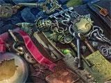 Dark City: London hidden object scene