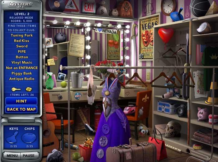 Mystery Room Games Online Free Part - 22: ... Dressing Room Scene In Mystery P.I. The Vegas Heist ...