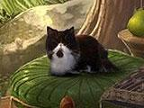 Awakening: The Sunhook Spire, a Cat in a Scene