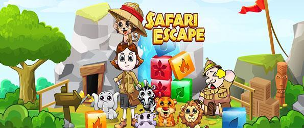 Safari Escape - Help the park ranger rescue the animals form the poacher in this block match game on Facebook.