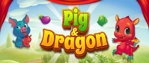 Pig & Dragon - Grow your dragons and stop the nasty pigs eating all the food in this fabulous Facebook match 3 game.