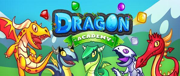Dragon Academy - use your magical dragons in a fabulous match 3 game.