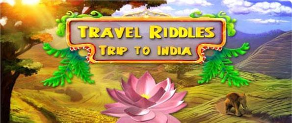 Travel Riddles: Trip to India - Travel the beautiful country of India and enjoy a stunning match 3 game.