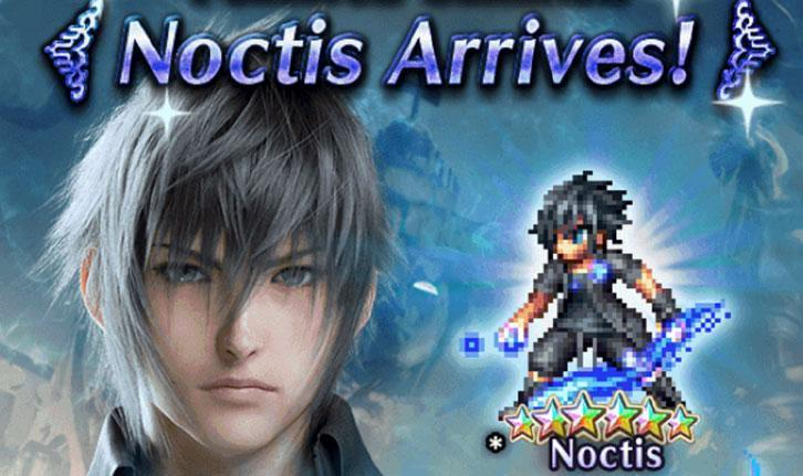 Noctis Returns to Final Fantasy Brave Exvius
