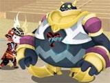 Boss battle in Kingdom Hearts: Unchained X