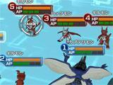 Battle in DigimonLinks
