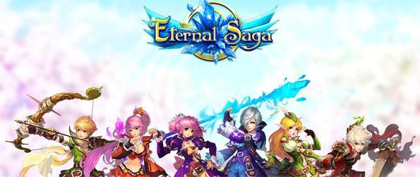 Eternal Saga - Enjoy an epic MMORPG experience where your character has the potential to restore peace to the land.