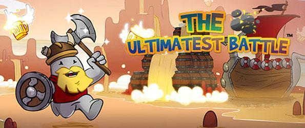 The Ultimatest Battle - A unique multi-player platform shooter game with cute and funny characters and damsels in distress.