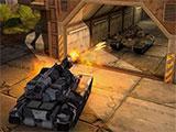 1-on-1 shootout in Tanki X