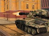 Tanki X: Vulcan turrets in action