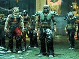 Getting ready for a battle in CrimeCraft: GangWars