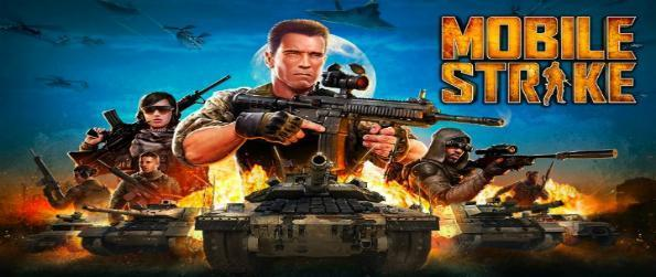 Mobile Strike - Be like action star Arnold Schwarzenegger and build a base, construct units, and decimate your foes in Mobile Strike.