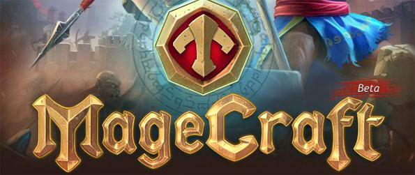 Magecraft - Take command of your own stronghold and slowly build its might.