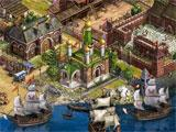 The port in Imperia Online