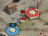 War Conflict: Fortified base