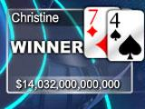 A Winner in Ultra Poker HD