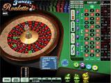 DoubleDown Casino 3 Wheel Roulette