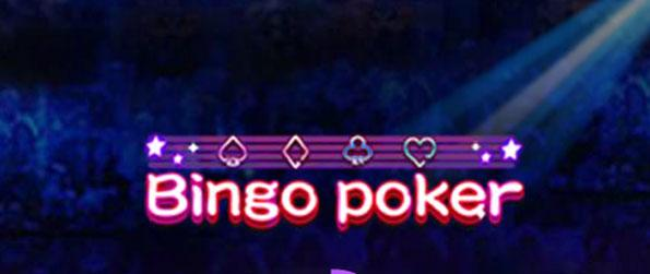 Bingo Poker - Test your favor with lady luck in this innovative Poker game.