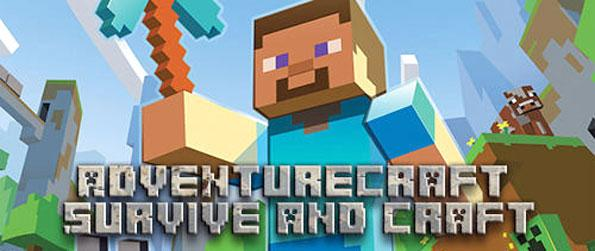 AdventureCraft: Survive and Craft - Do whatever you please in this immersive sandbox game that you won't be able to let go of.