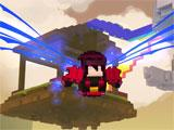 Trove flying around