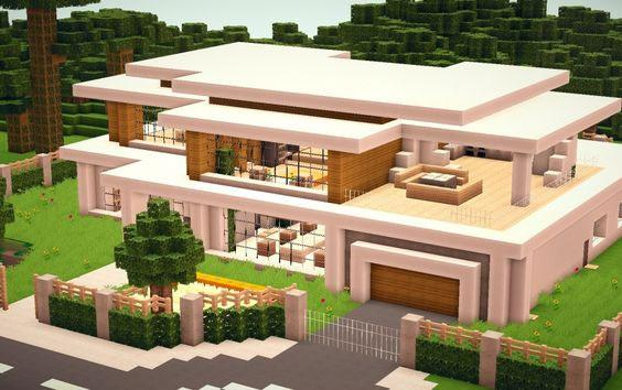 ... Best Modern Home Design In Minecraft   Survey Option 3
