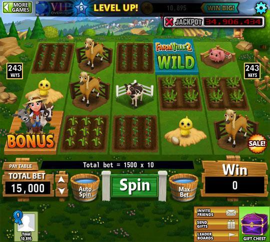 Enjoy the Amazing Farmville Slots in Hit it Rich
