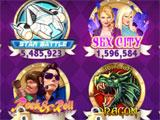 Casino Slots main menu