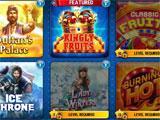 Free Slots Casino main menu