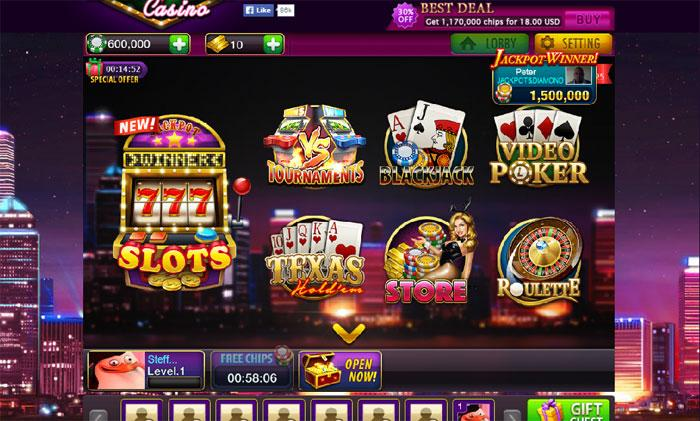 lucky win casino games