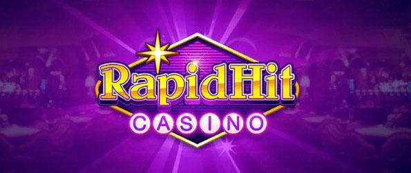 RapidHit Casino - Play through one of the largest online slot machine casinos on Facebook!