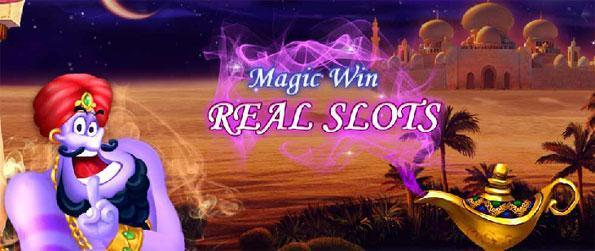 Real Slots - Magic Win - Try out your luck in this addicting slot game on a huge variety of slot machines.