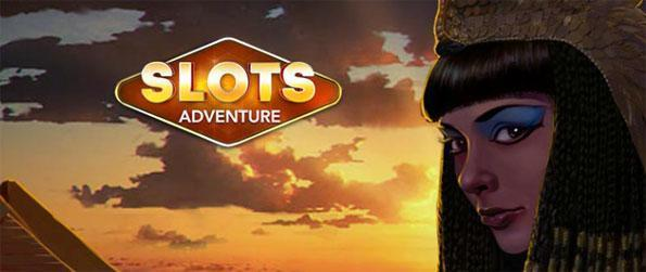 Slots Adventures - Wager your winnings or cash out to add them to your credits.