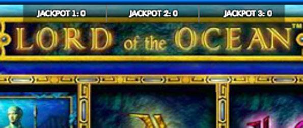 Lord of the Ocean Slots -  Walk away with lots of cash, or nothing at all.