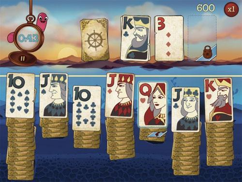 beat the Clock in Solitaire Blitz