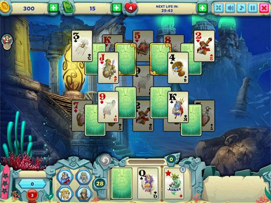Explore the Enchanting World of Solitaire Atlantis