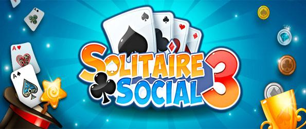 Solitaire 3 Social - Play against others from around the world in this fast-paced solitaire game that doesn't disappoint.