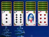 Happy Wonderland Solitaire starting off a level