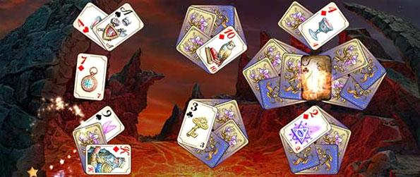 Emerland Solitaire: Endless Journey - Use your special wizard powers as you enjoy a fun Solitaire Adventure.
