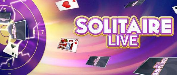 Solitaire Live - Enjoy a fast paced live action solitaire game free on Facebook.