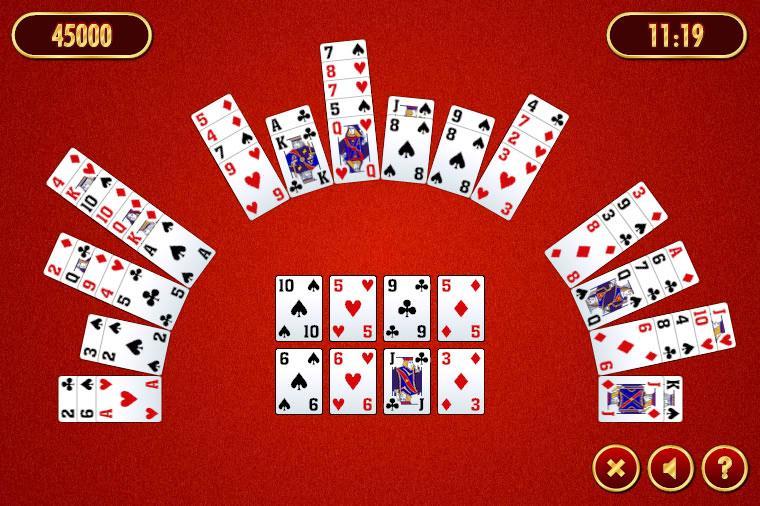 Crescent solitaire 2 kostenlos spielen